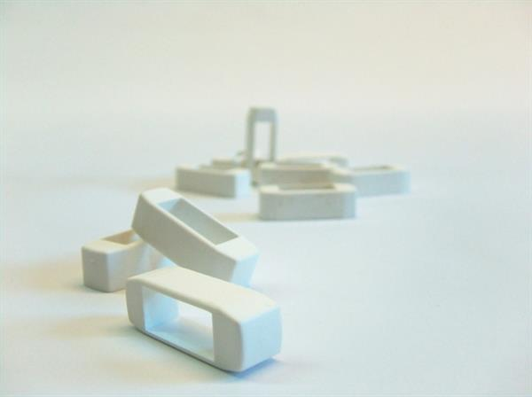 Zander Kreuzklemmen weiß 100 Stück
