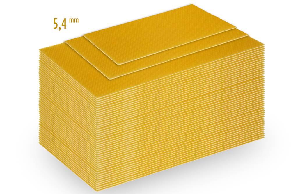 Mittelwände Zander Flachzarge 395*135mm 2kg Paket