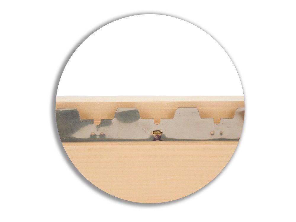 Komplettbeute Dadant Blatt mit der Premiumecke - Varioboden nach Pfefferle und Stülpdeckel