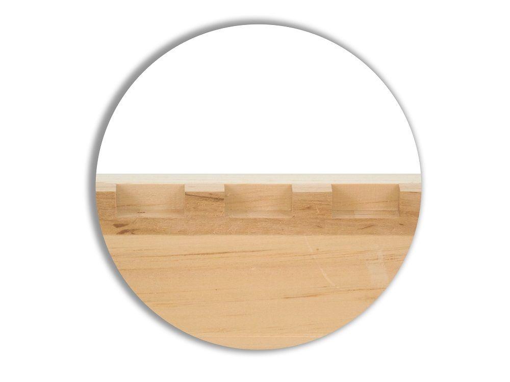 Komplettbeute Dadant Blatt mit der Premiumecke - Classicboden ohne Stülpdeckel