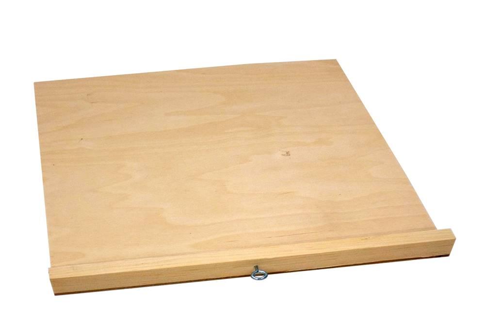 Varroaschieber Liebig Hoch- oder Flachboden Sperrholz